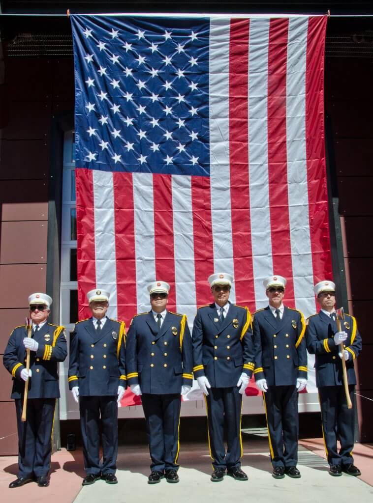 The Aspen Fire Honor Guard