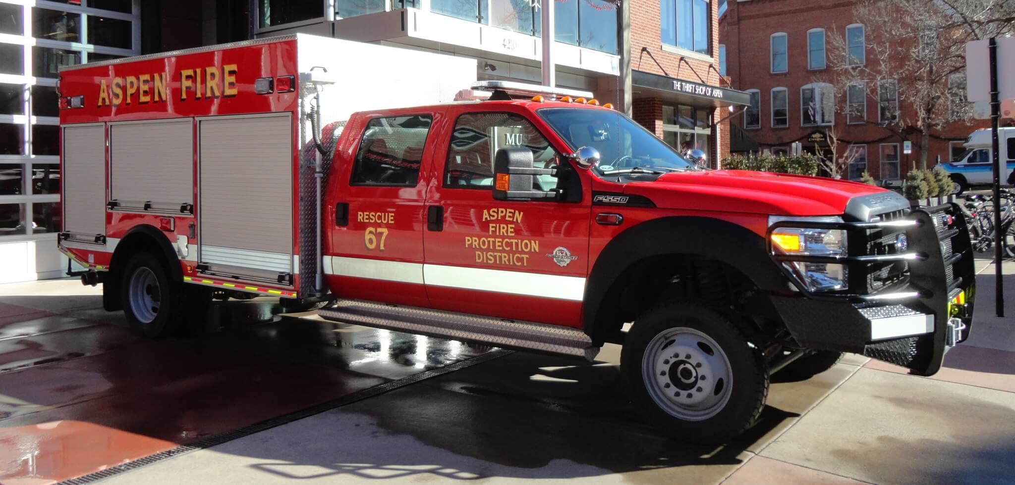 Aspen Fire Rescue 67
